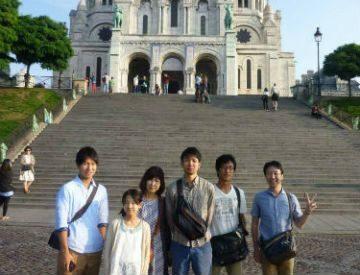Naoya Otsu French student フランス語
